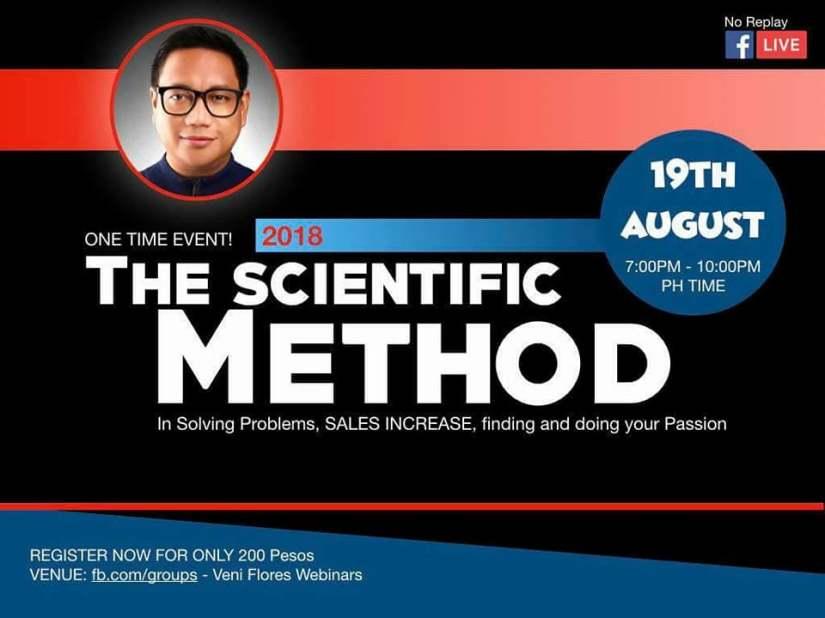 scientific webinar